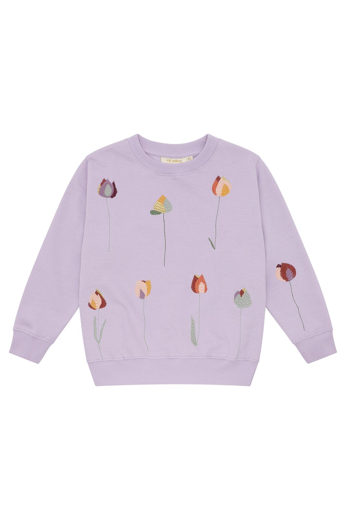 Baptiste sweatshirt - Lavender Frost-1