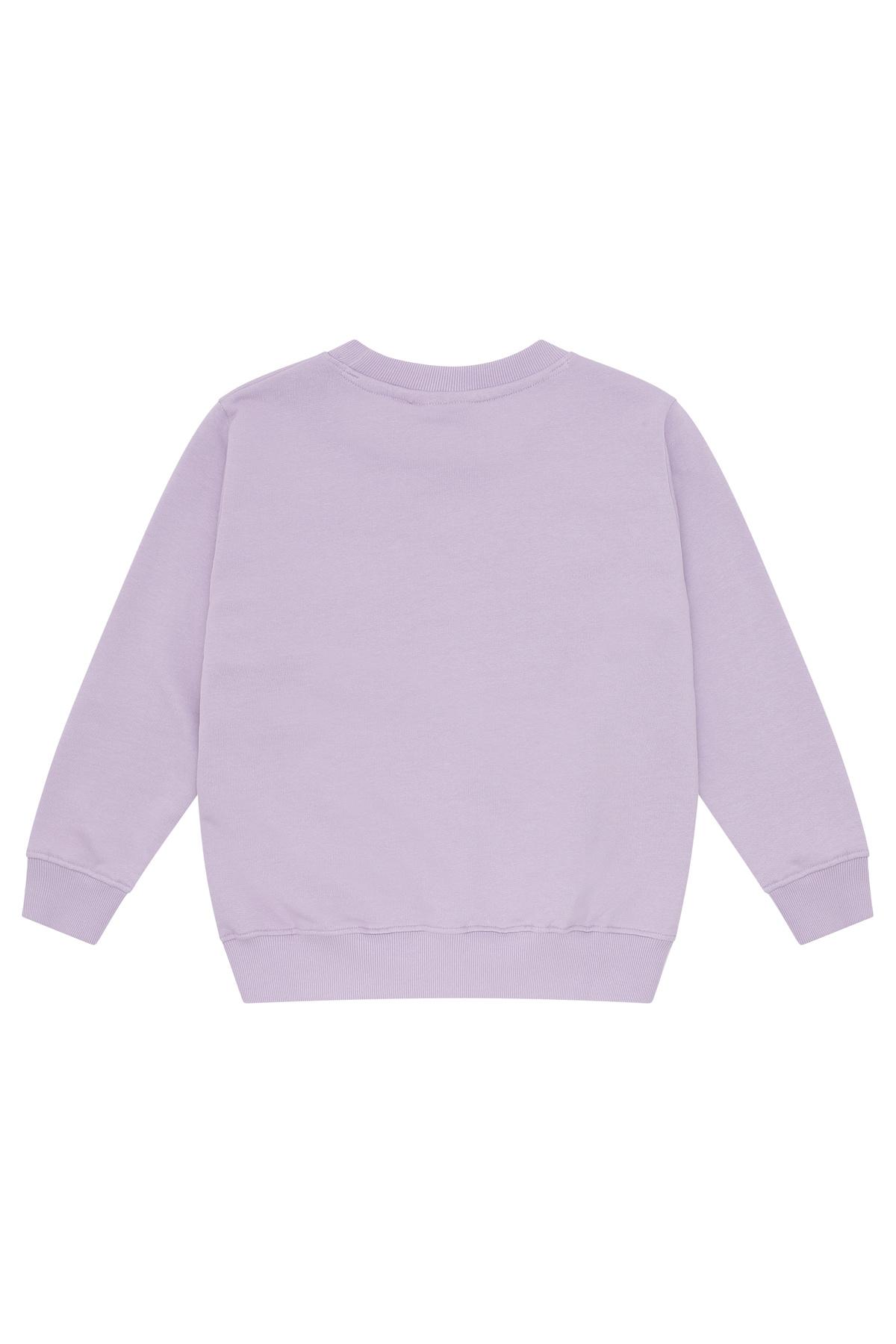 Baptiste sweatshirt - Lavender Frost-3