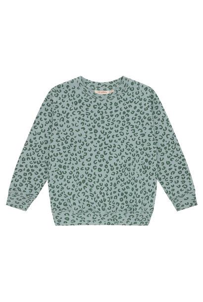 Baptiste sweatshirt - Slate Leopspot