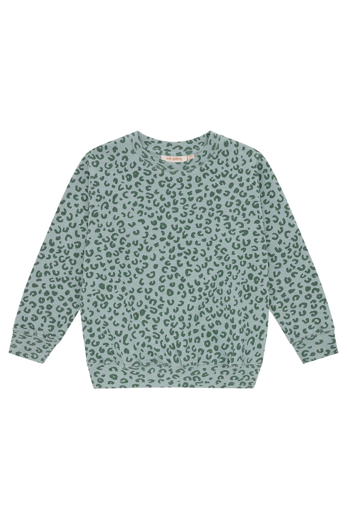 Baptiste sweatshirt - Slate Leopspot-1