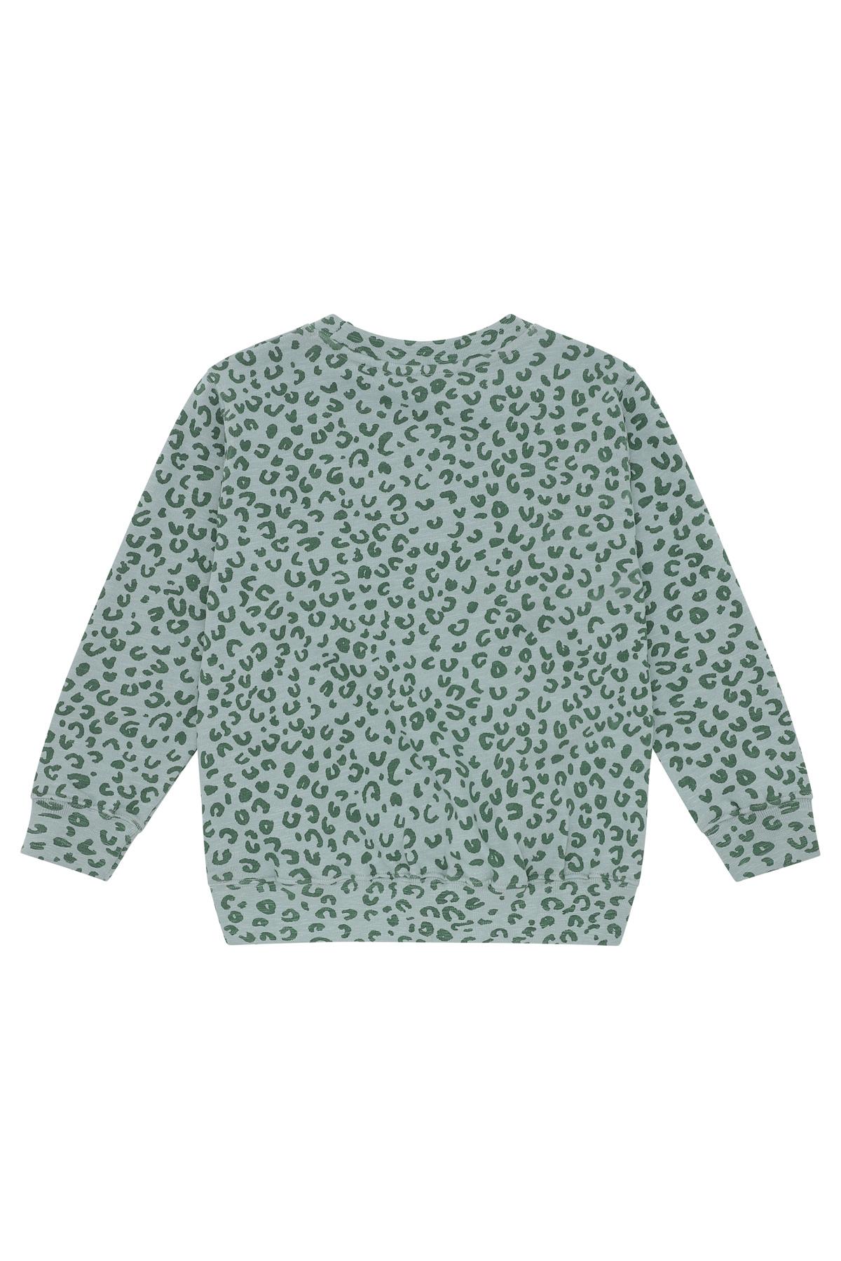 Baptiste sweatshirt - Slate Leopspot-2