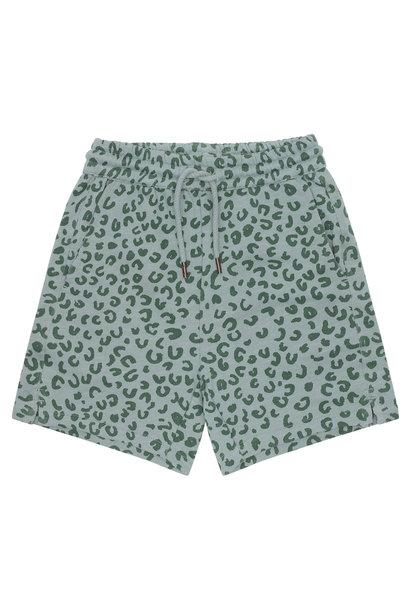 Hudson shorts - Slate Leopspot