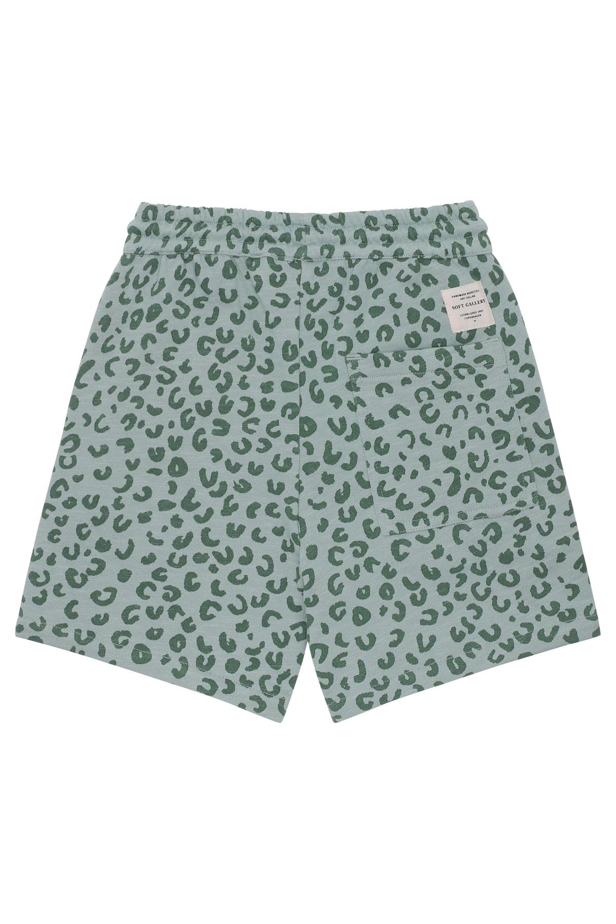 Hudson shorts - Slate Leopspot-2