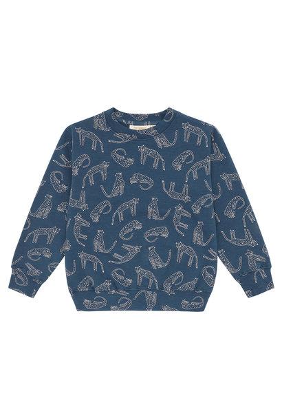 Baptiste sweatshirt - Majolica Blue