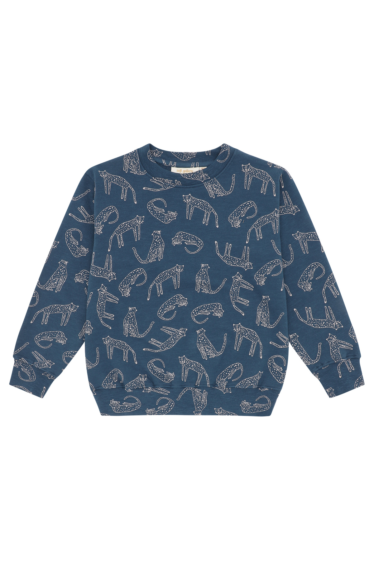 Baptiste sweatshirt - Majolica Blue-1