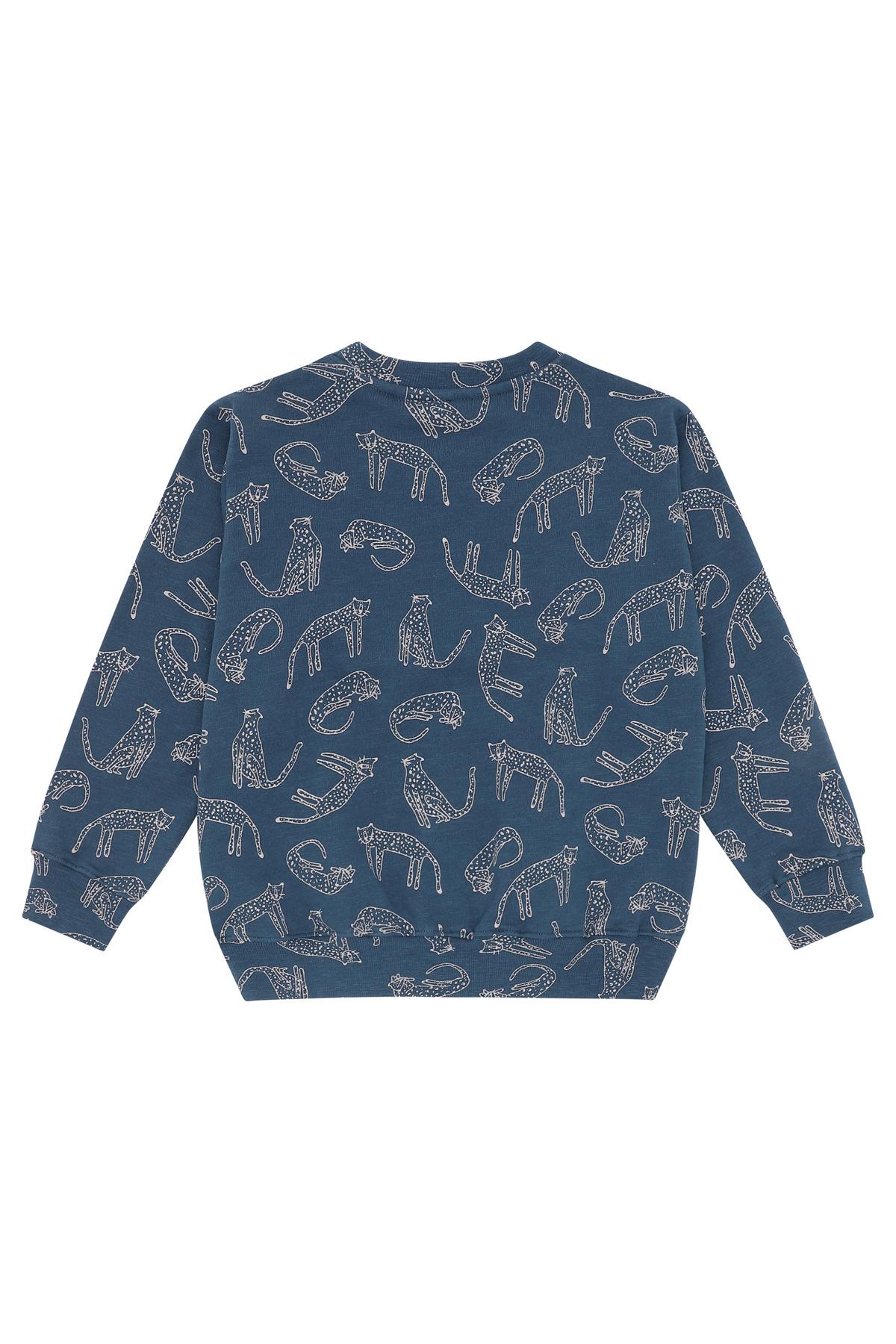 Baptiste sweatshirt - Majolica Blue-2