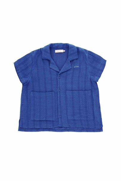 Stripes Tiny shirt - Iris Blue / Ink Blue