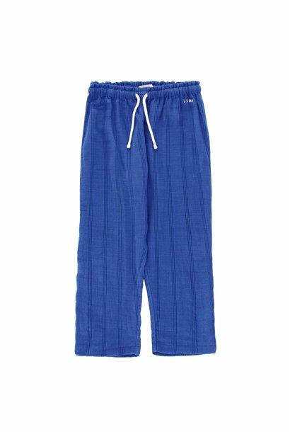Stripes Tiny pant - Iris Blue / Ink Blue
