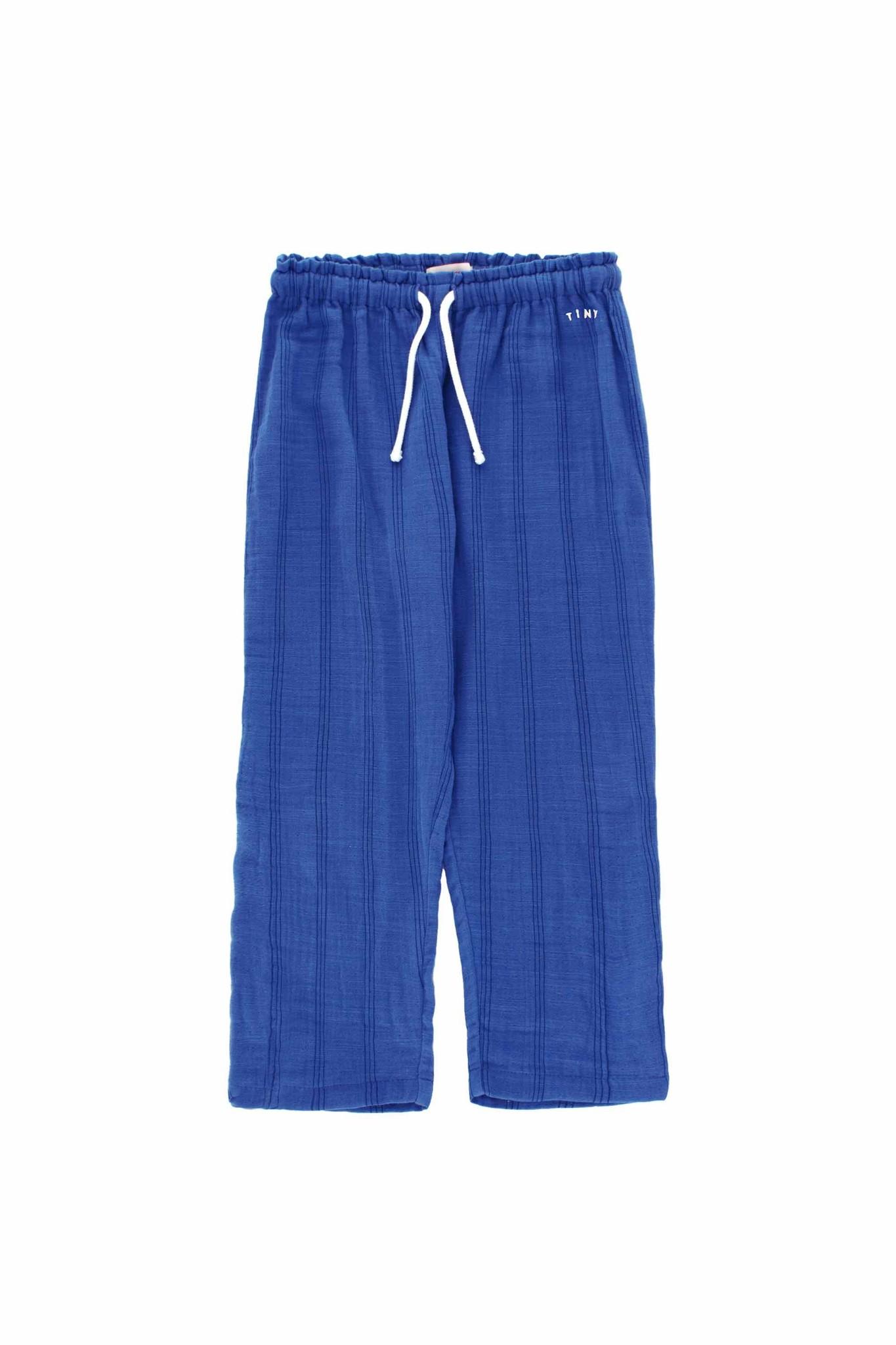 Stripes Tiny pant - Iris Blue / Ink Blue-1