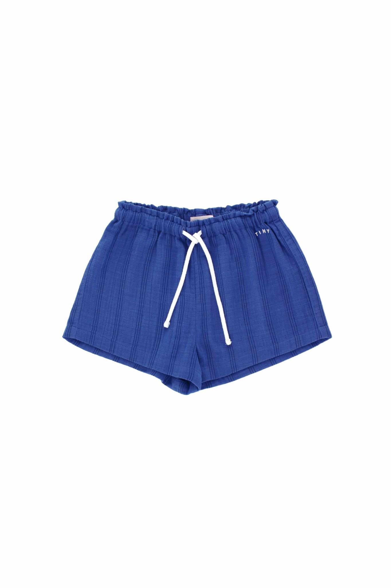 Stripes Tiny short - Iris Blue / Ink Blue-1