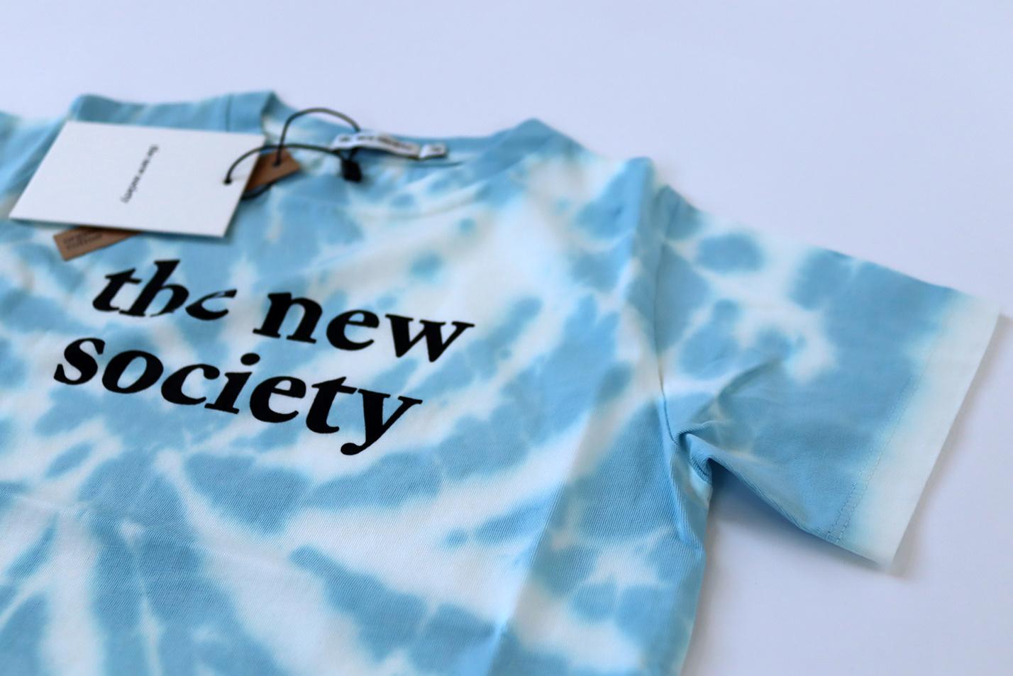 The New Society tee - Deep Blue-3