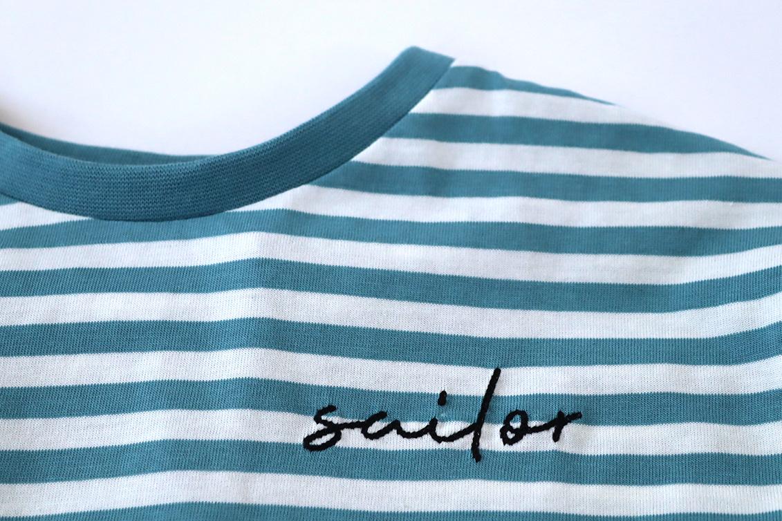 Sailor tee - Deep Blue-2