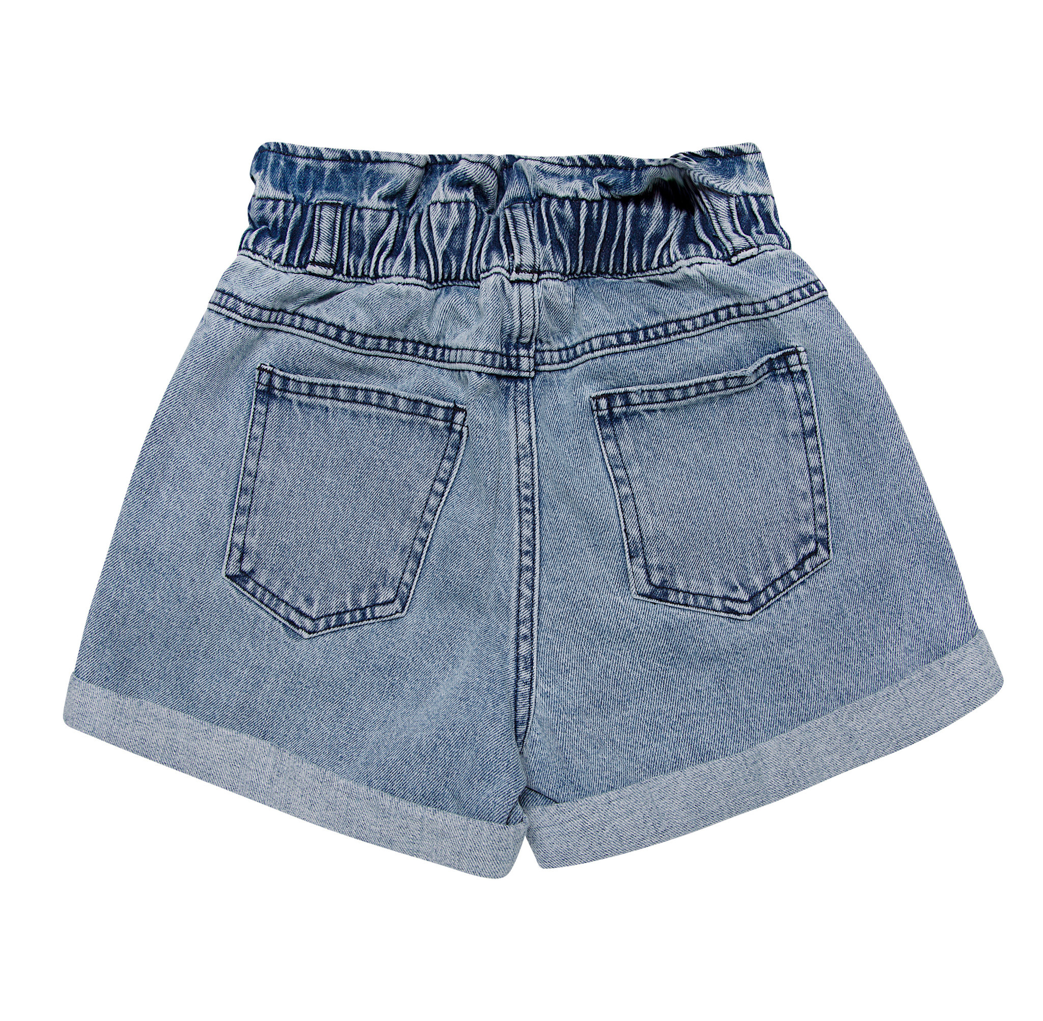 Lola short - Light Blue Denim-3