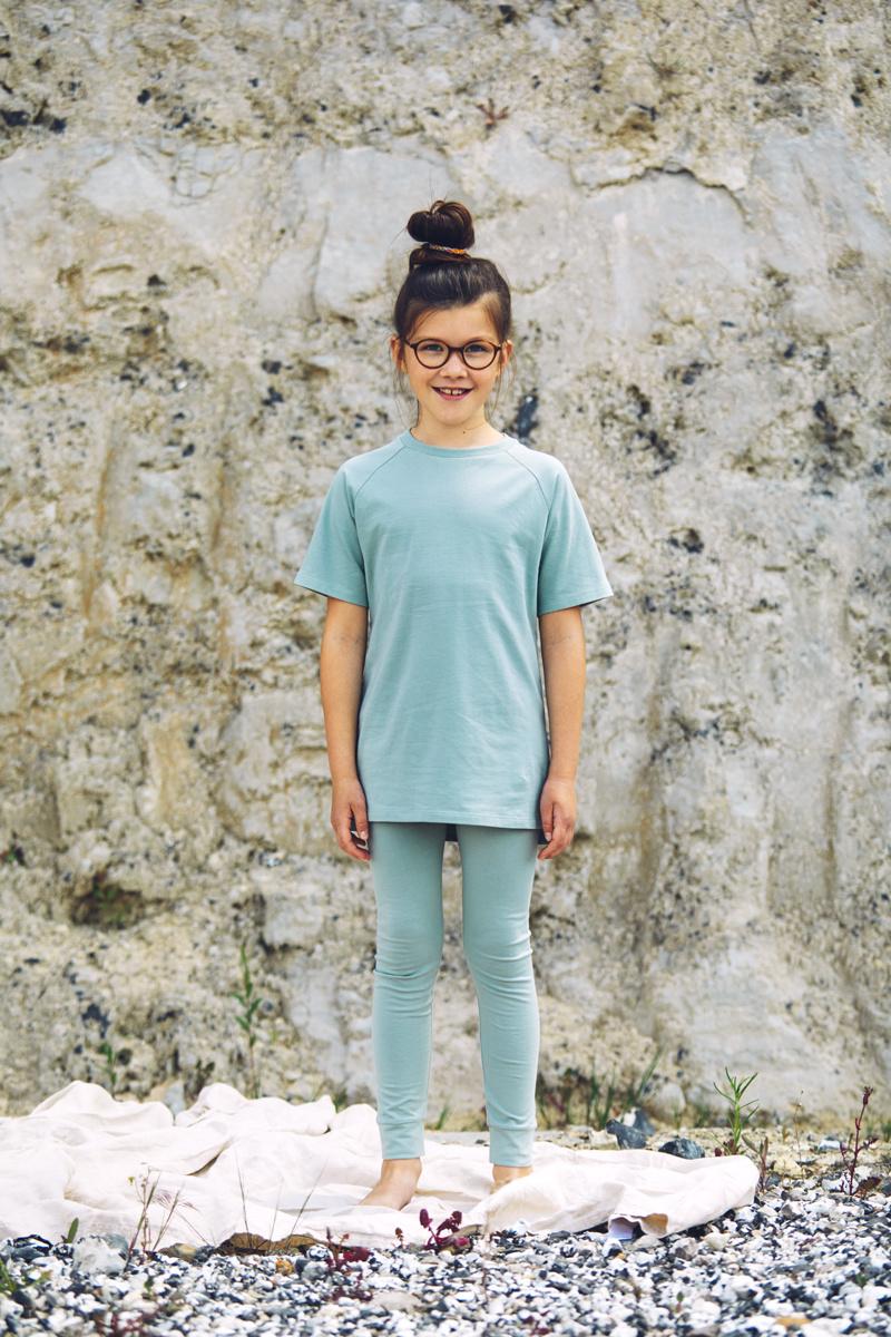 T-shirt - Sea Foam-2
