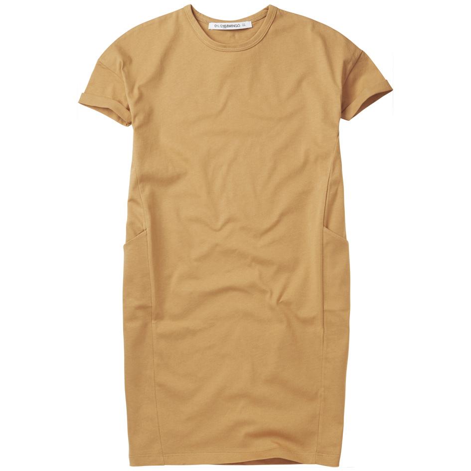 T-shirt dress - Light Ochre-1
