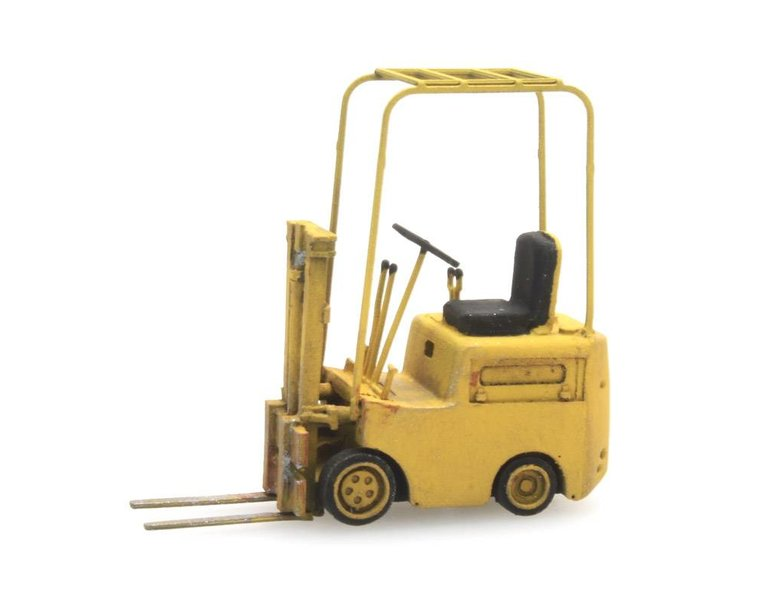 Forklift yellow