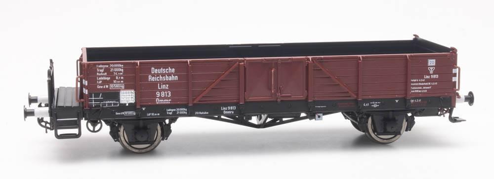 Open goederenwagen Ommr 32 Linz, DRB 9 813