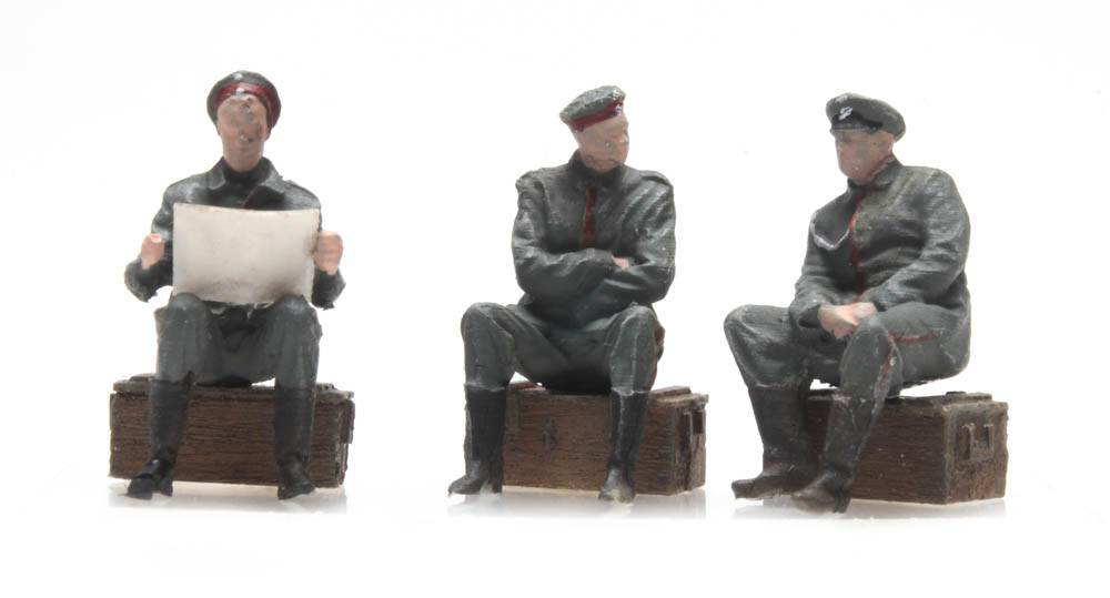 Ausruhende Soldaten Deutsches Heer