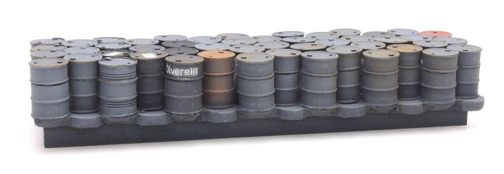 Cargo: oil drums