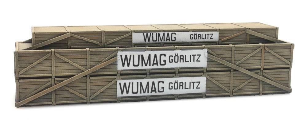 Lading: Transportkist Wumag Görlitz
