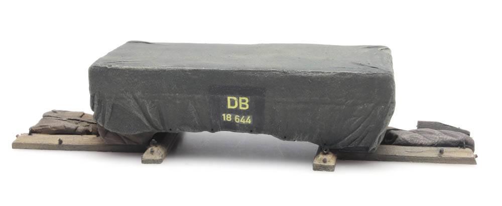Lading: Transportkist onder dekzeil
