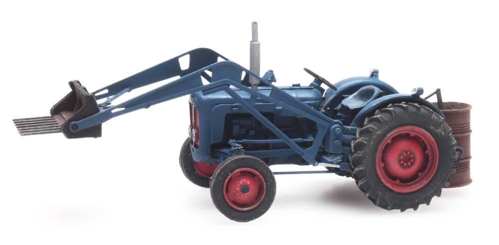 Traktor Fordson mit Frontlader