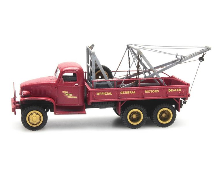 GMC 353 recovery truck