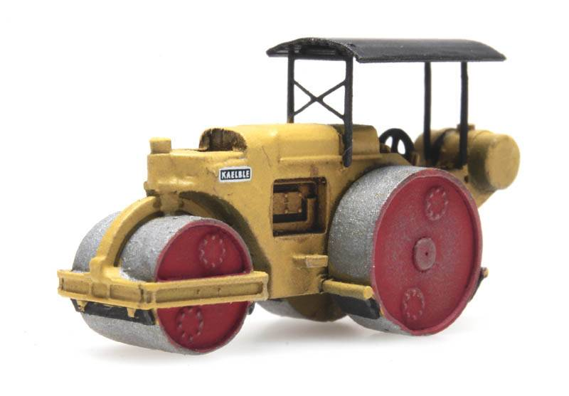 Road roller Kaelble yellow