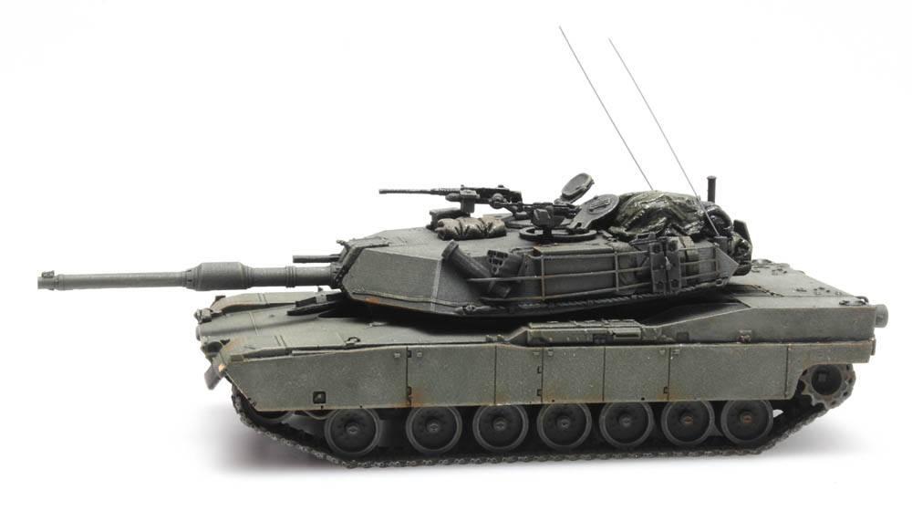 M1 Abrams green