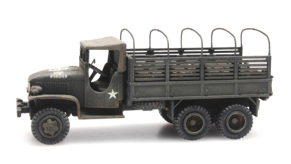 GMC 353 open cab cargo 2 with load