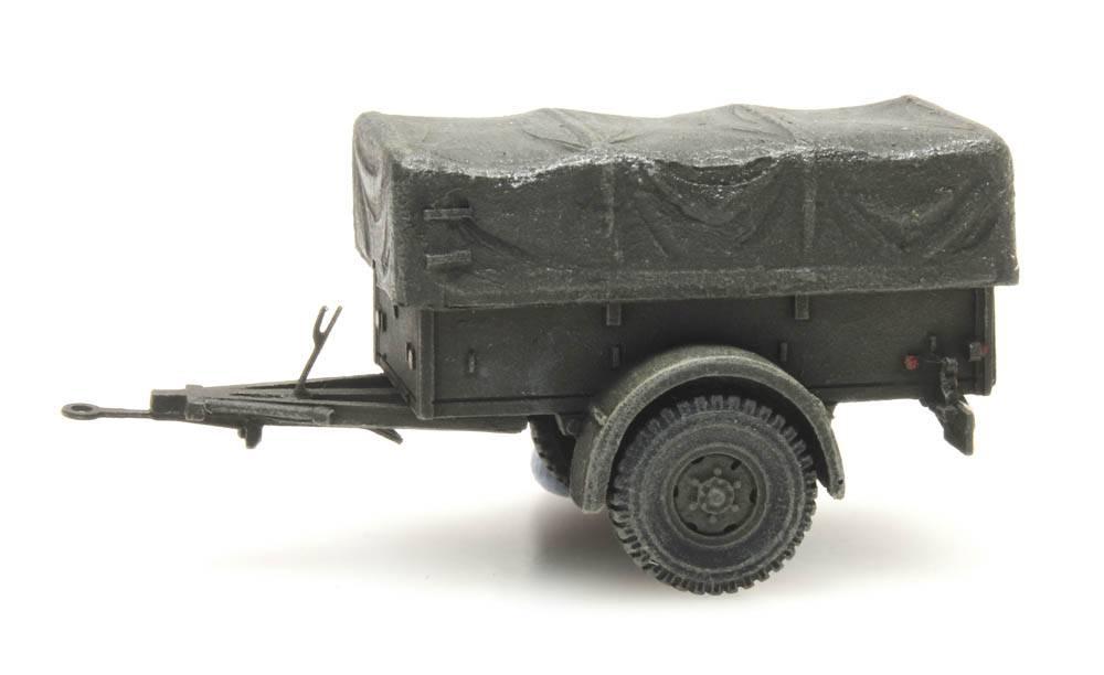 Trailer Polynorm 1 T, Royal Dutch Army