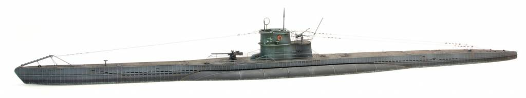 German Type VIIC submarine waterline, 1:87 kit
