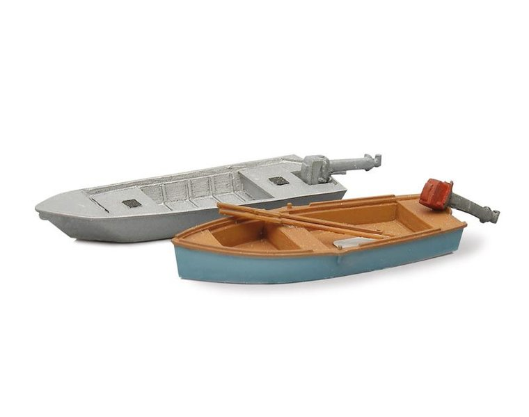Fishing boats modern (2x)