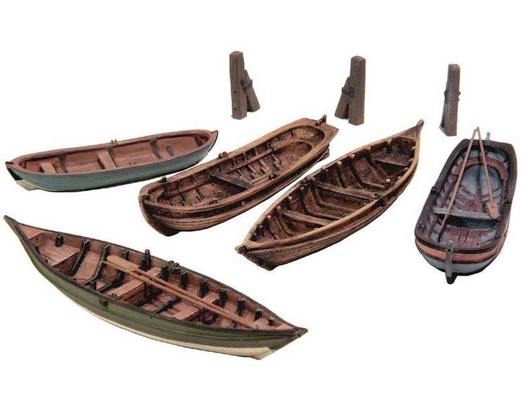 Ruderboote (5x)