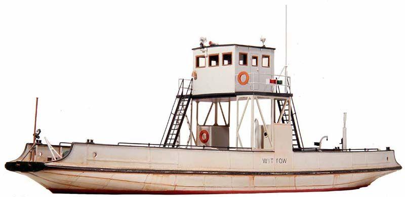 Veerboot Wittow H0e smalspoor