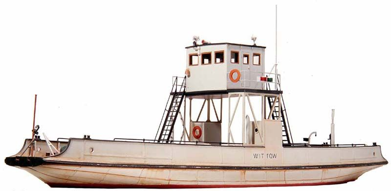 Wittow ferry narrow gauge H0e
