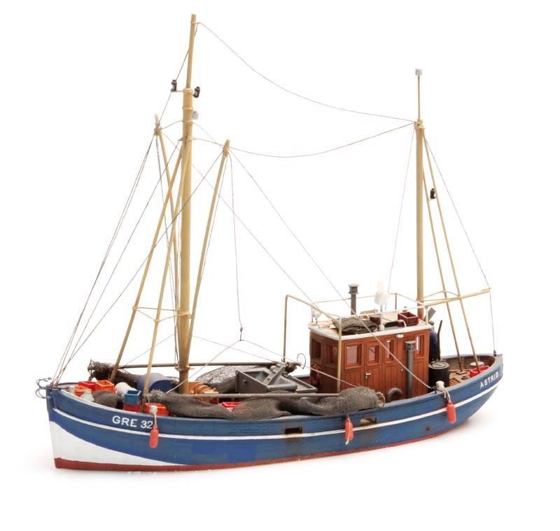 Crabbing cutter waterline - resin kit - 1:87