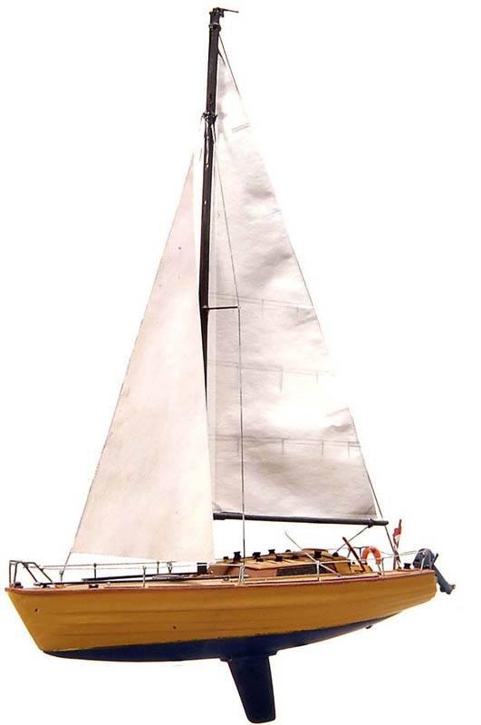 Segeljacht Waarschip, Bausatz