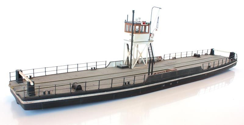 Railroad ferry, 1:87 resin kit, unpainted