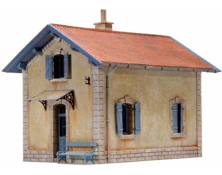 French crossing-guards house PLM