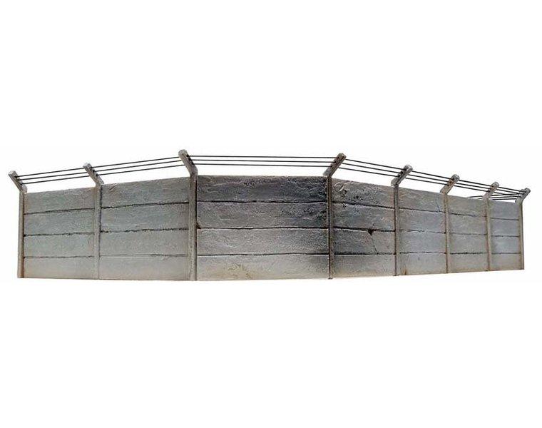 Concrete wall set