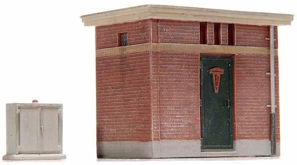 Transformer building, 1:87, resin kit, unpainted
