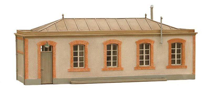 Lampenmagazin, Frankreich, 1:87, Bausatz aus Resin, unlackiert