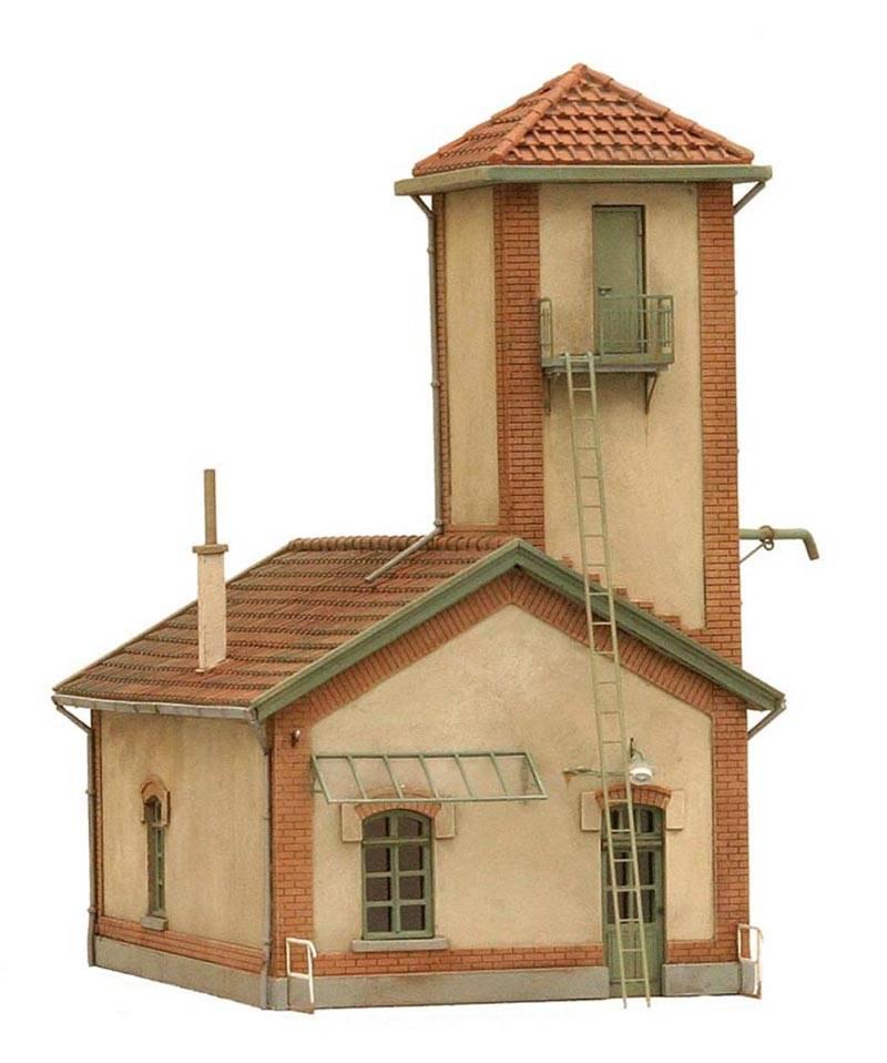 Sandhouse, France, 1:87, resin kit, unpainted