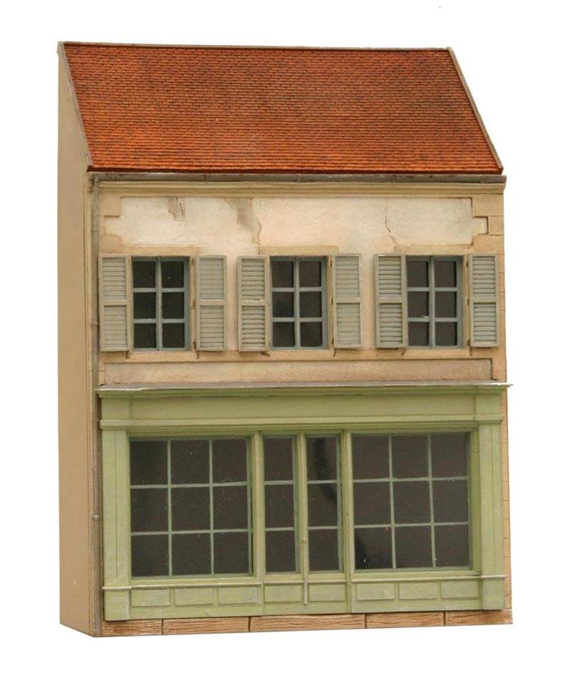 Facade M France, 1:87, resin kit, unpainted