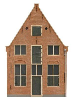 Facade U 17th century Dutch, 1:87, resin kit, unpainted
