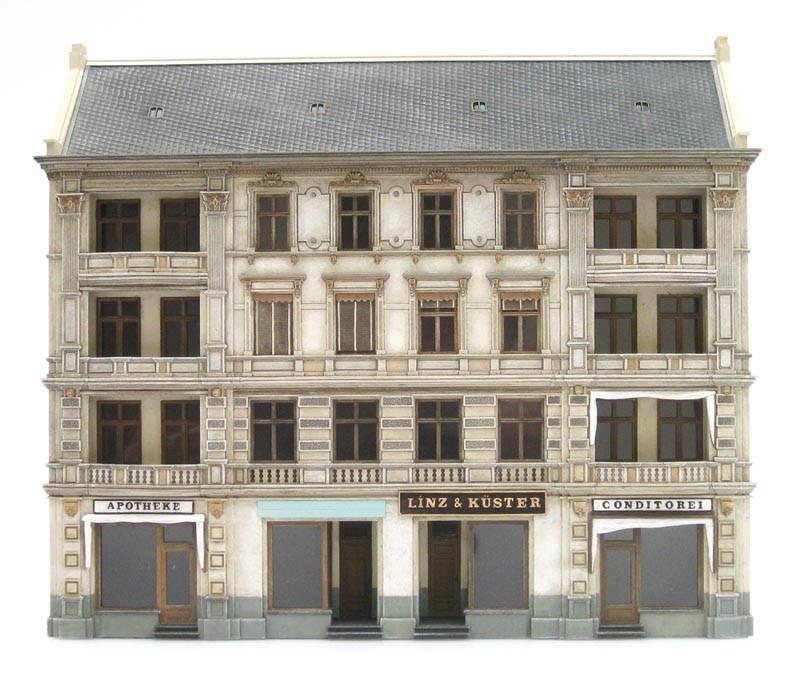 Fassade Linz & Küster, 1:87, Bausatz aus Resin, unlackiert