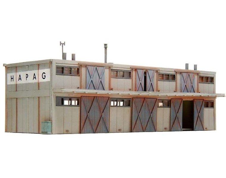 Goods depot, 2 levels 1:160