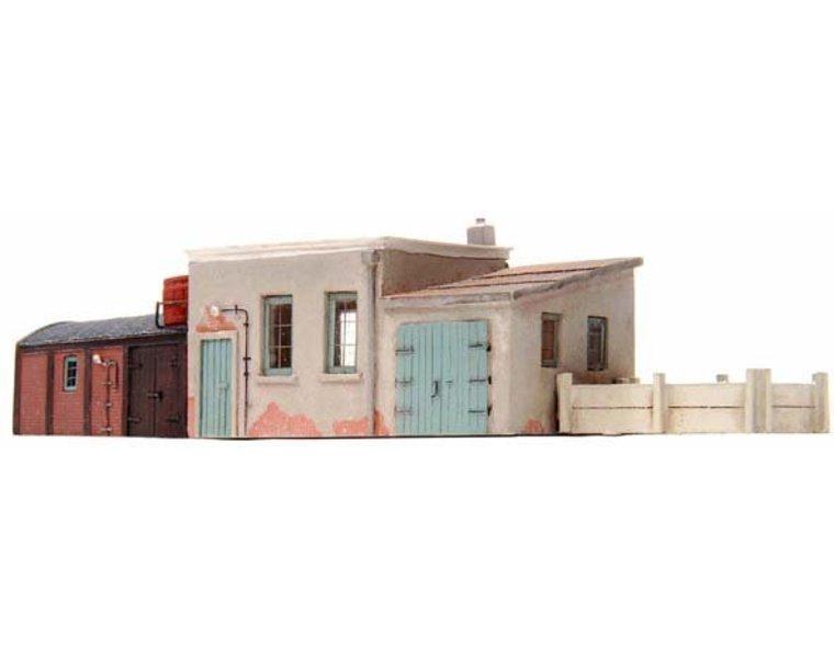 Nebengebäude für Bahnarbeiter 1:160