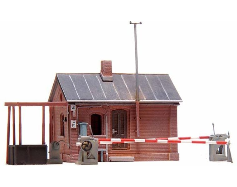Guarded level crossing Münsterland 1:160